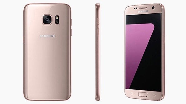 S7 pink