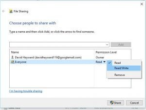 How to share a folder or hard drive on your home network