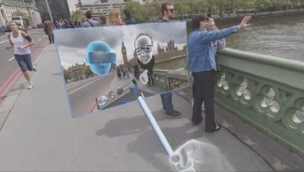 VR selfie