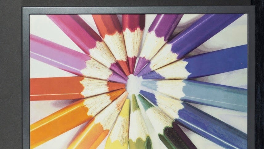 Colour ePaper