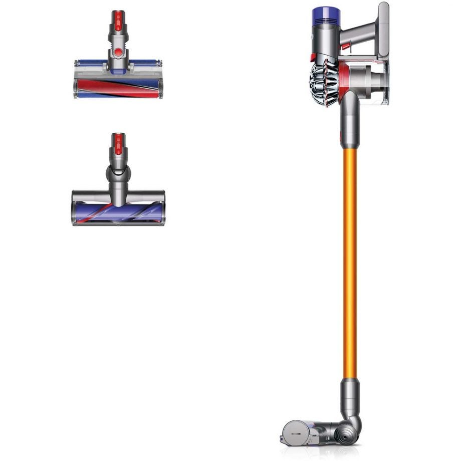 dyson v8 absolute review trusted reviews. Black Bedroom Furniture Sets. Home Design Ideas