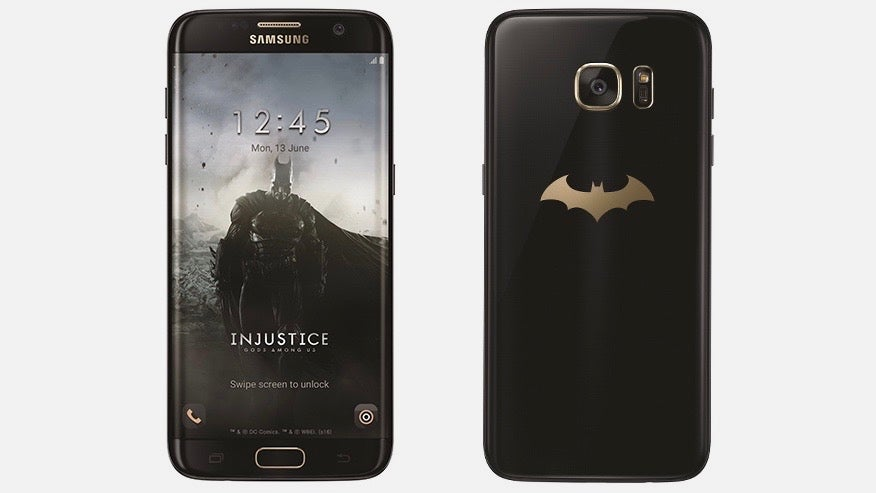 Samsung Batman phone