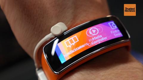 Samsung Gear Fit video review