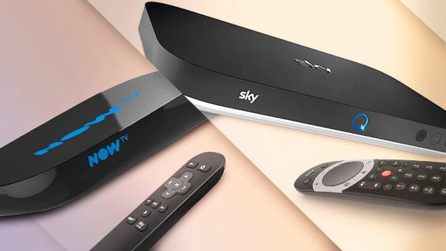 Now TV vs Sky Q