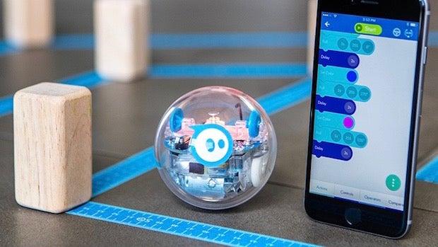 Sphero S New Sprk Is A Waterproof Robot That Teaches