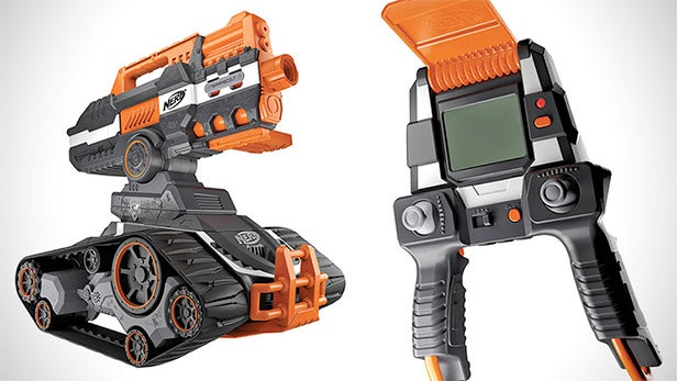 Unleash foamy carnage with Nerf's TerraScout Drone, an RC battle