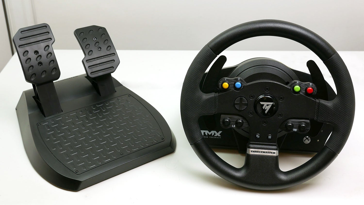 volant tx racing wheel leather édition