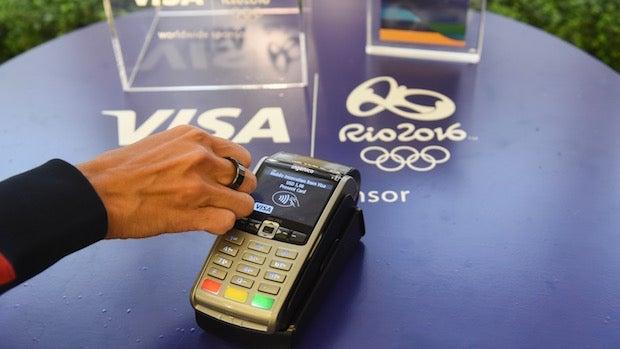 Visa NFC ring