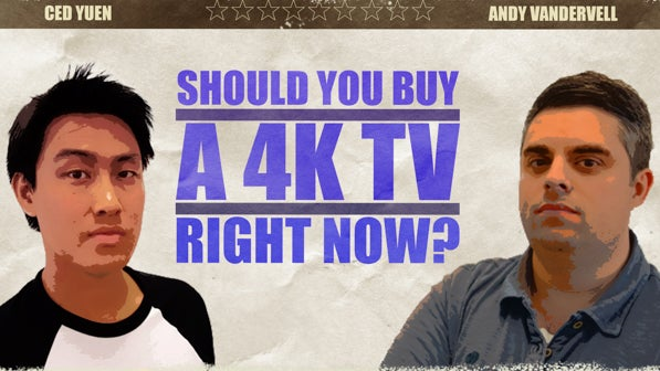 Should You Buy A 4k Tv Right Now Head To Head Video