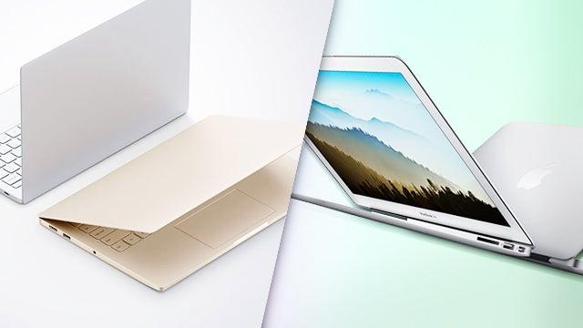 Notebook vs Macbook Air