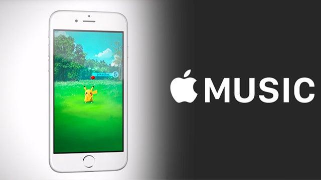 Pokemon Go Apple Music