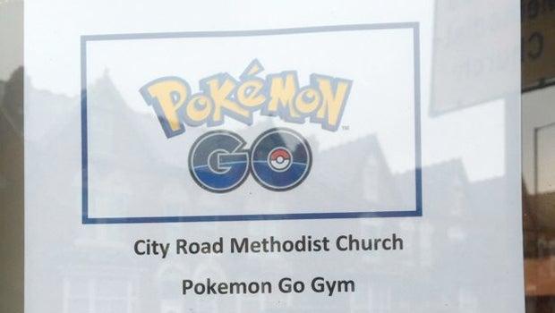 Pokemon Go Church