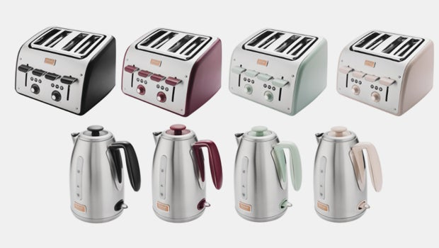 Tefal Has Announced A Colourful New Range Of Kettles And Toasters Designed By The Acclaimed Seymourpowell Studio