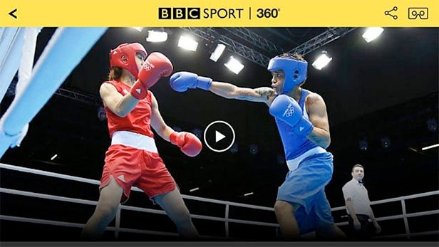 bbc sport vr