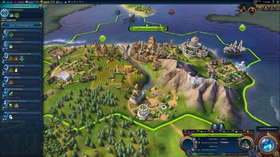 Civilization 6 Frontier Pass - huge new update adds new