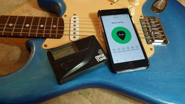 we put fender s new guitar tuning app to the test trusted reviews. Black Bedroom Furniture Sets. Home Design Ideas