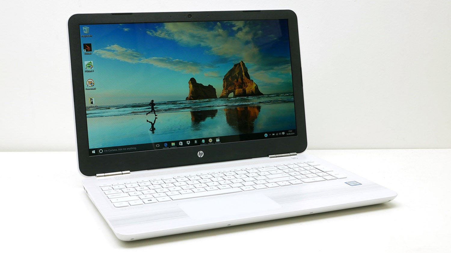 This HP Pavilion x Convertible Laptop is a powerful option for working on the go. It has a degree hinge which allows you to work and type on it like a traditional laptop, flip it over to act as a stand or use the touchscreen like a tablet.