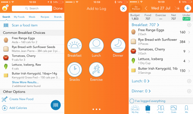 Best Calorie Counter Apps 5 Best Food Diaries For Android And Ios