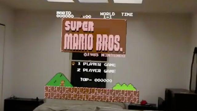 Mario hololens