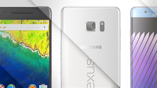Note 7 vs Nexus