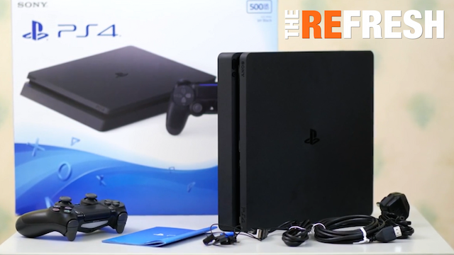 Refresh PS4 Slim