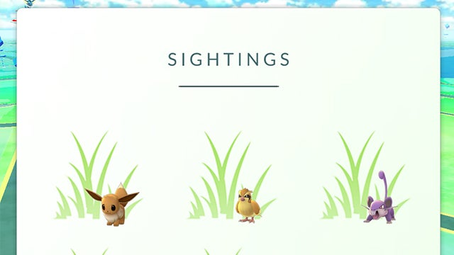 Sightings