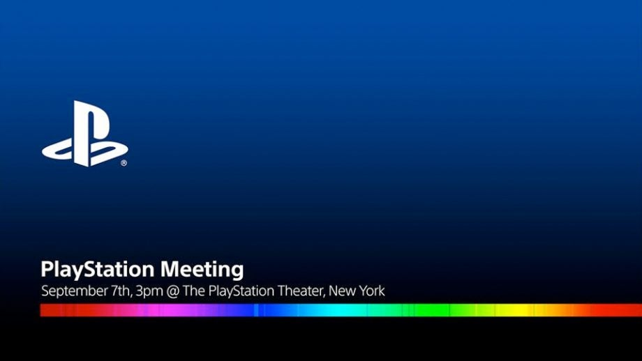 Sony PS4 meeting event