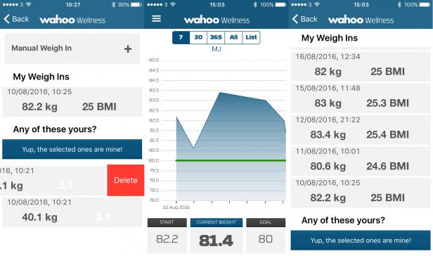 Wahoo Fitness Balance