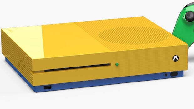 You can customise your new Xbox One S in any colour – for a price