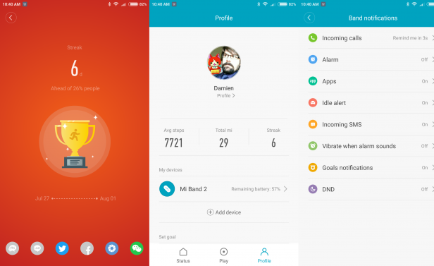 Xiaomi Mi Band 2 Review   Trusted Reviews