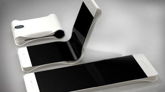 Samsung folding phone concept