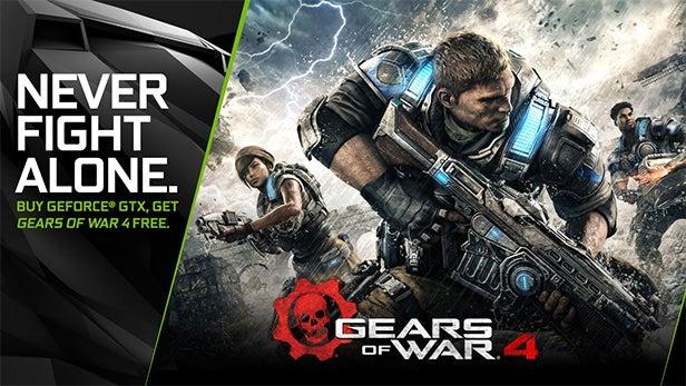 gears of war 4 nvidia deal