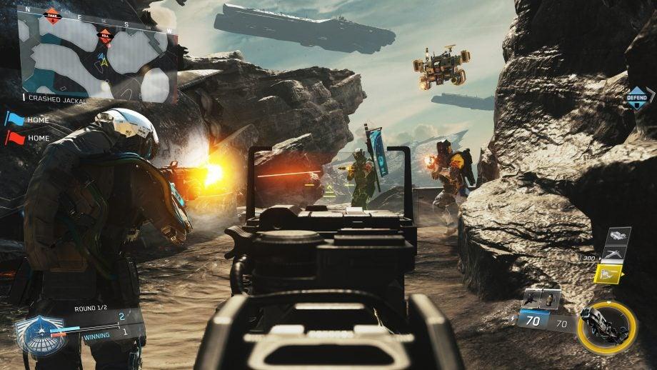 call of duty infinite warfare legacy edition gameplay