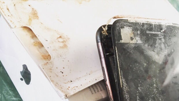 iPhone 7 explosion