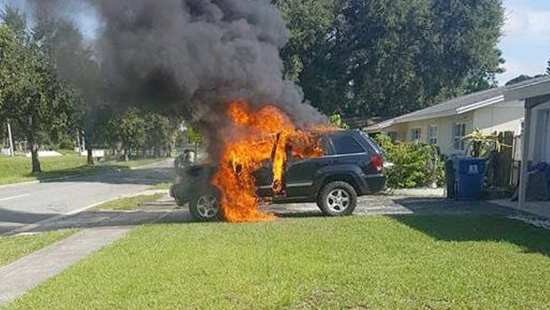 Jeep Fire