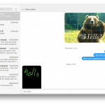macOS Sierra Messages