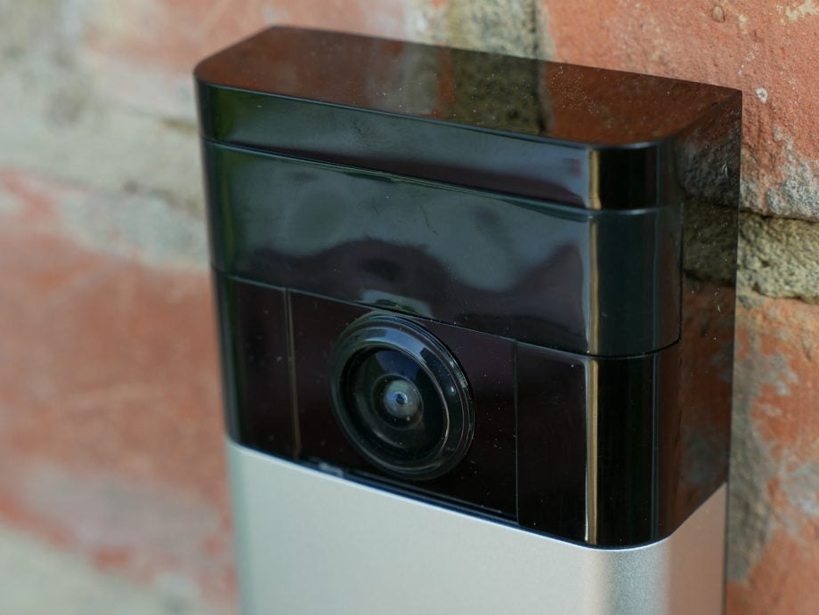 smarten up your porch with this ring video doorbell now. Black Bedroom Furniture Sets. Home Design Ideas