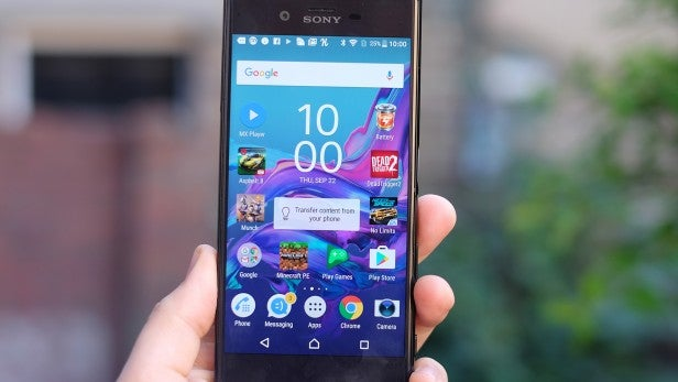 Sony Xperia XZ – Screen and Software Review   Trusted Reviews