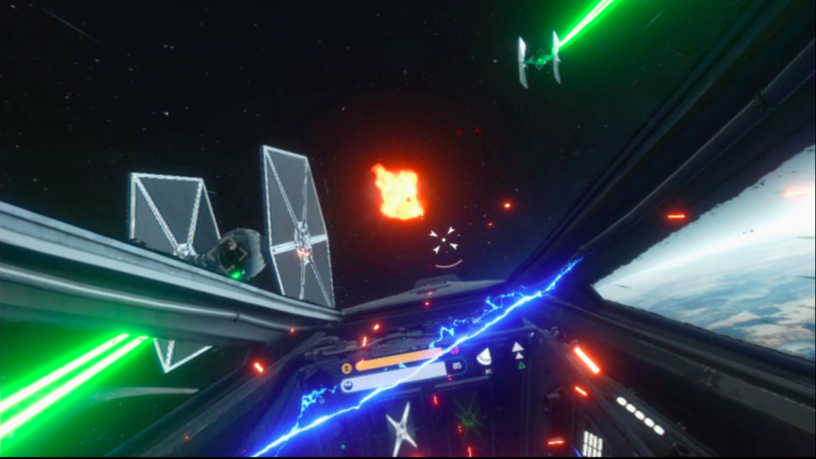 Star Wars Battlefront Rogue One: X-Wing is the best VR game I've