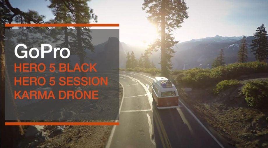 GoPro Hero 5 and Karma drone