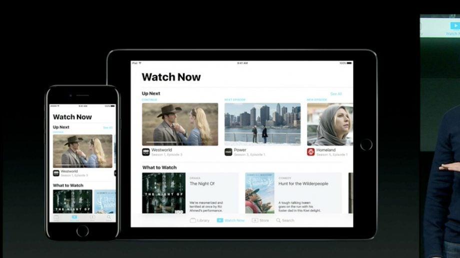 Apple TV app for iOS