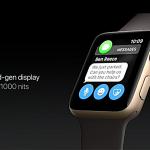 Apple watch 2 brightness