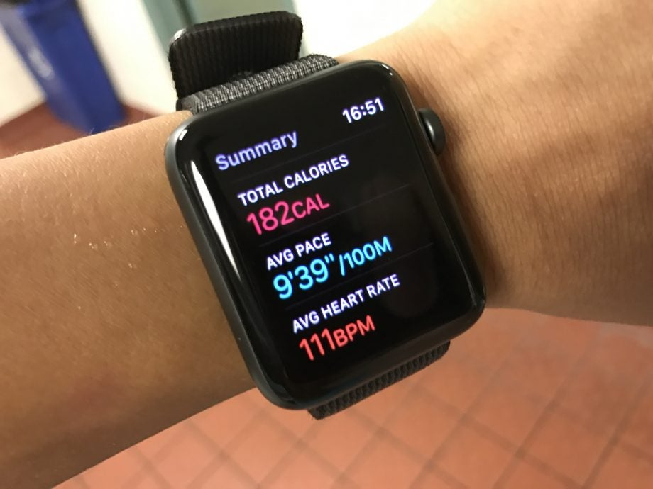 How the Apple Watch 2 stacks up against dedicated fitness