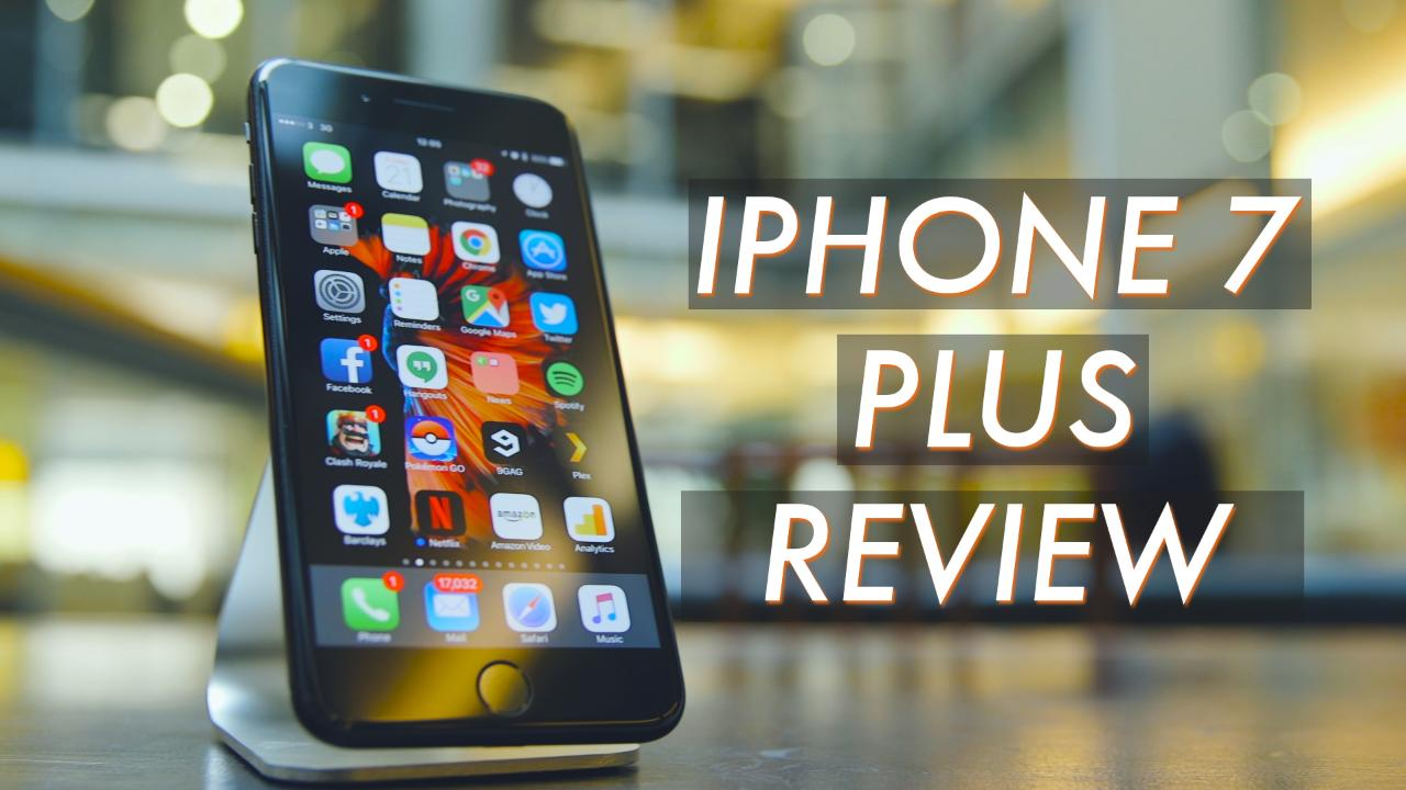 iphone 7 plus black unboxing. iphone-7-plus-review iphone 7 plus black unboxing