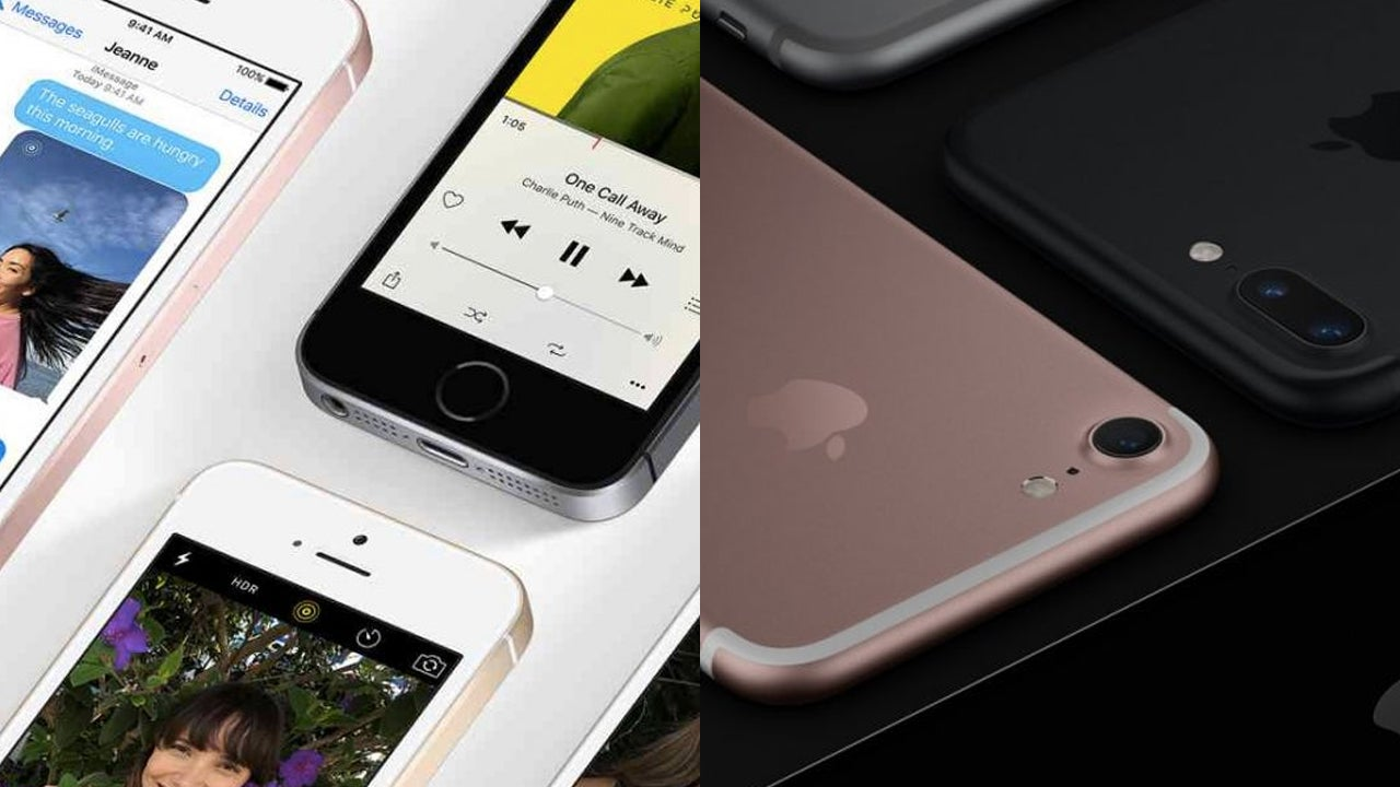 Iphone 7 Vs Se Which 2016 Is Best Trusted Reviews Apple 32gb Space Grey
