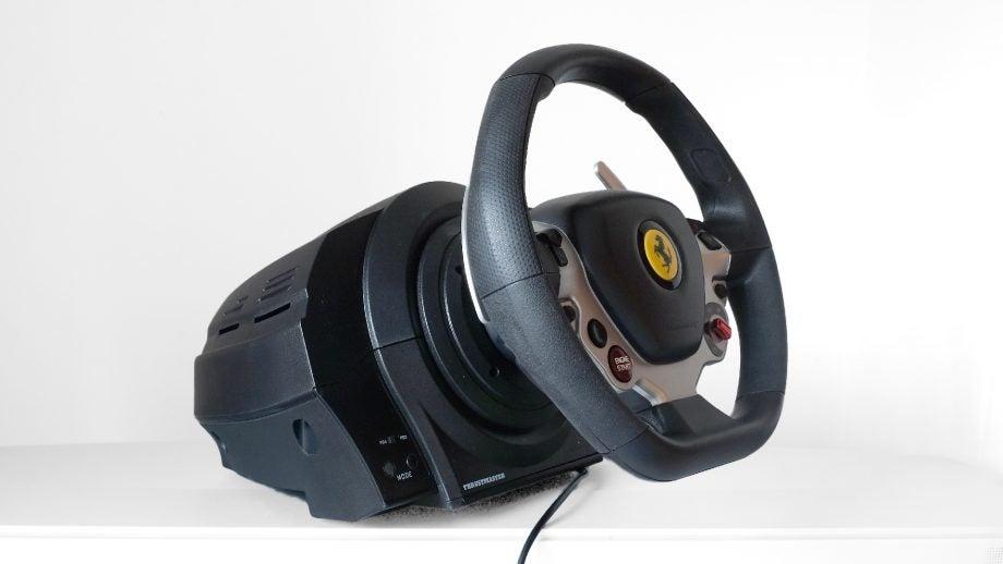 ferrari 458 italia racing wheel review