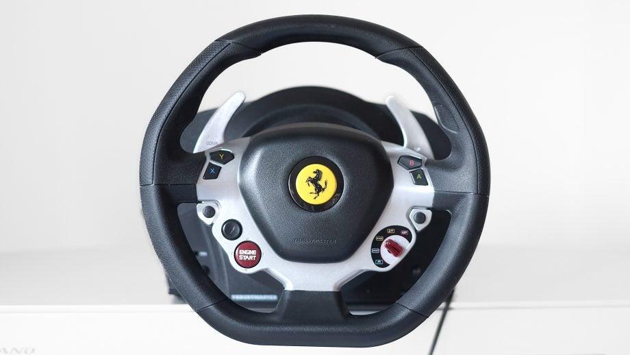 thrustmaster tx racing wheel ferrari 458 italia edition review trusted reviews. Black Bedroom Furniture Sets. Home Design Ideas