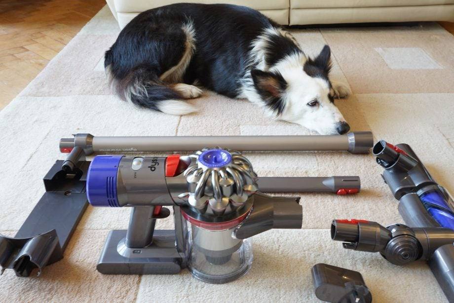 dyson v8 animal review trusted reviews. Black Bedroom Furniture Sets. Home Design Ideas