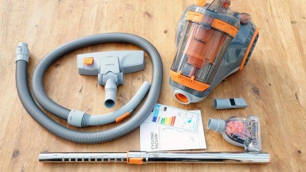 VonHaus Bagged Cylinder Vacuum Cleaner