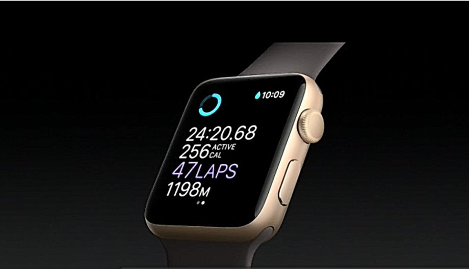 Apple Watch 2 swim